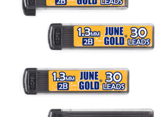 120 Pack of 1.3 mm 2B Graphite Lead Refills