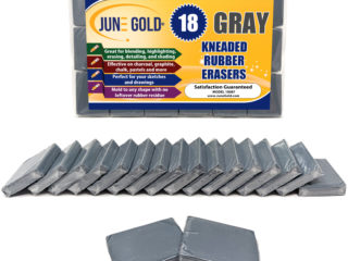 18 Pack of Gray Kneaded Rubber Erasers