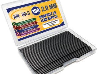108 Pack of 2.0 mm 2B Graphite Lead Refills