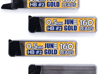 640 Pack of 0.5 mm HB Graphite Lead Refills